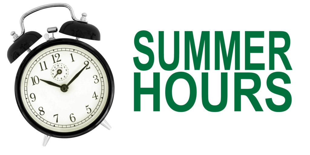Summer Hours Slider