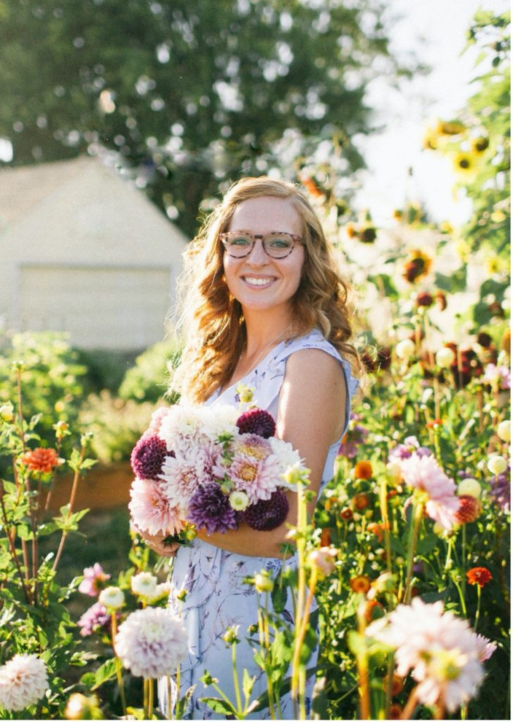 Kali Ramey Martin and Flowers