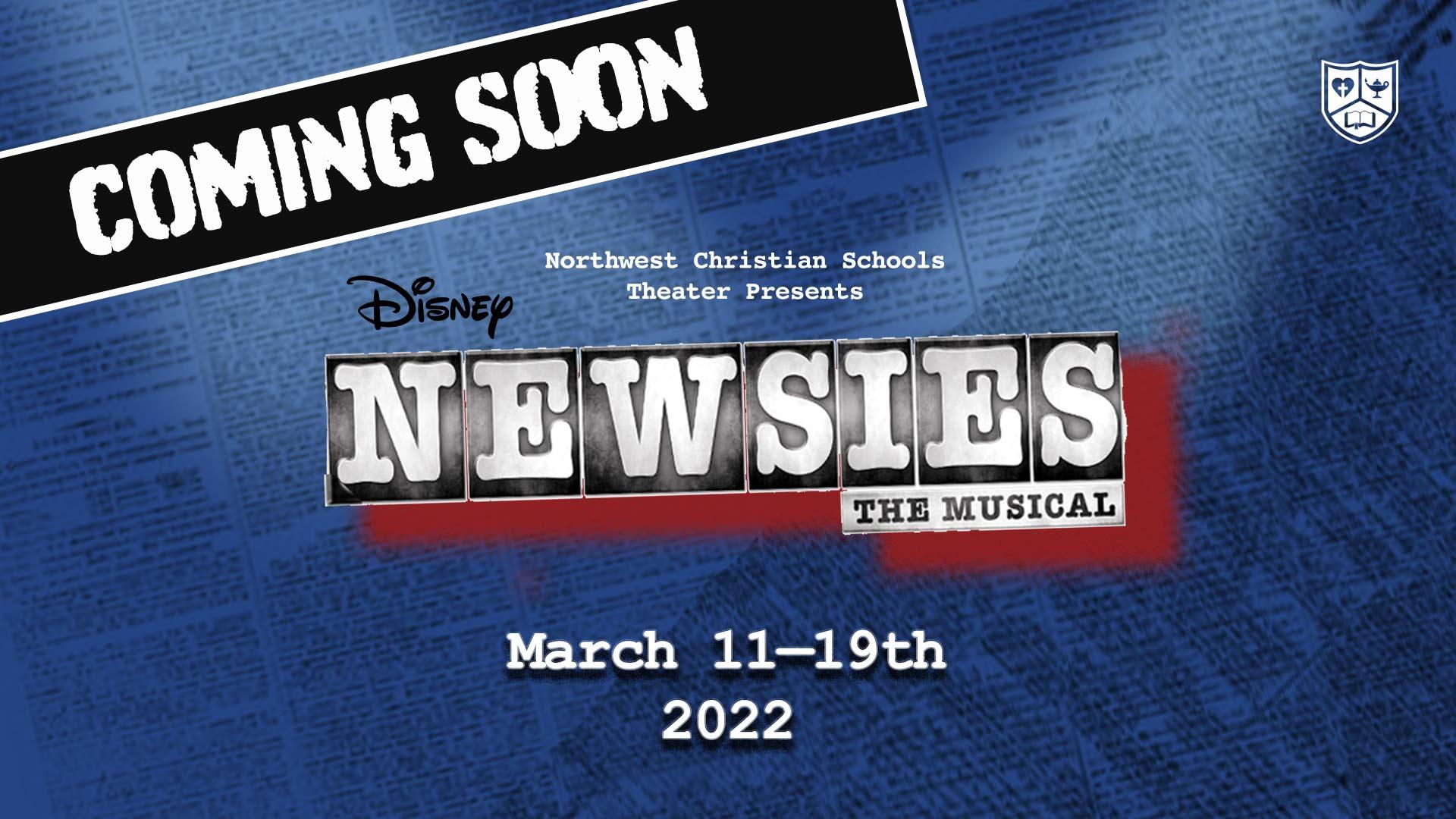 Newsies Coming Soon